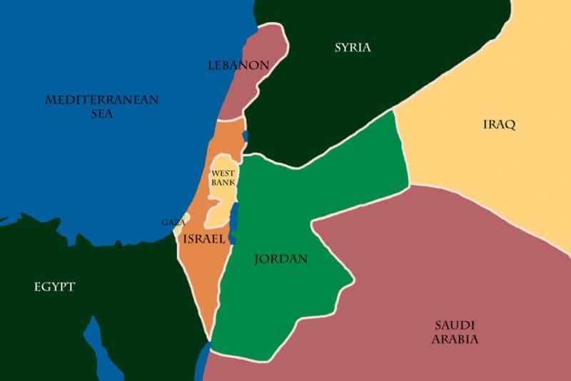 パレスチナ国の行政区画