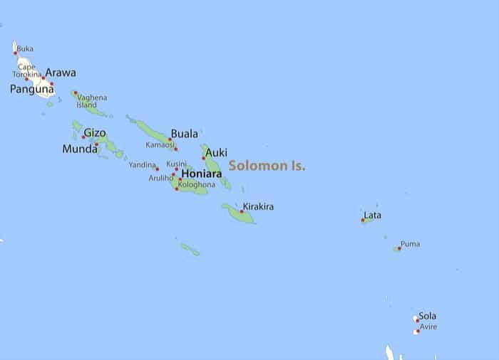 ソロモン諸島|観光に行くべき理...