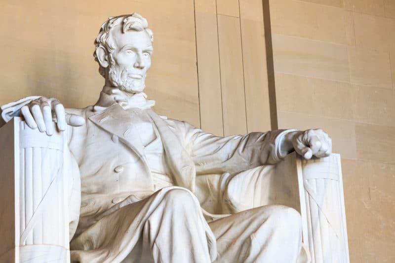 エイブラハム・リンカーン大統領...