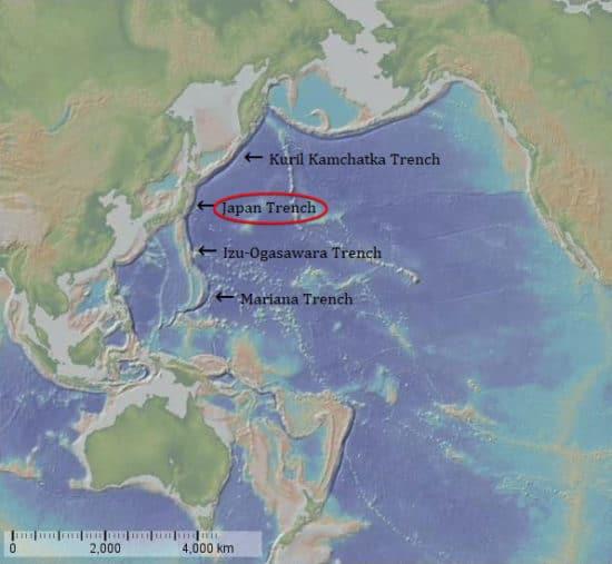 さ 深 日本 海溝